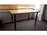 Ikea wooden desks