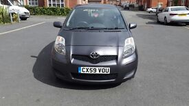 Toyota Yaris 5 door 1.0 litre VVTI TR 2009 HPI clear £30 road tax