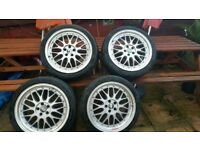 BBS LM'S Reps 18 inch Alloy Wheels 5×100