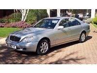 Mercedes-Benz S Class 320 CDI automatic LWB FSH Long mot