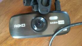 Dashcam with mount