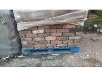 RECLAIMED HANDMADE BRICKS 4000 AVAILABLE AT £480 PER THOUSAND. PALLETED AND READY FOR COLLECTION.
