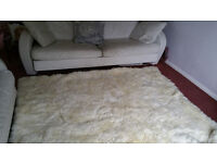 Thick Pile Large Sheep Skin Rug