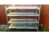 Bartlet B-line steel shelving unit