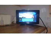 Nikkai 10.2 inch LCD TV with USB