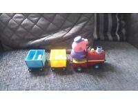 Peppa pig grandads little train