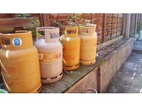 13KG Gas Bottle Cylinder Empties Suitable For Camping/Caravan/Cooking/BBQ (X 6)