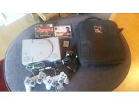 PS1 bundle with Metal Gear Solid