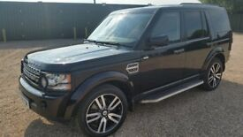 LAND ROVER DISCOVERY 4 HSE TOP SPEC +MORE FSH 132K BLACK BEAUTY WOW! NAV EVERYTHING!!! BLACK LEATHER
