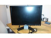 Dell Monitor - 19 inch wide screen - Model E198WFP