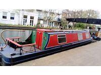 NarrowBoat 37 ft for sale !