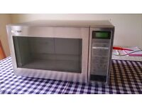 Large microwave oven