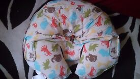 Nursing/ breastfeeding pillow and baby pillow
