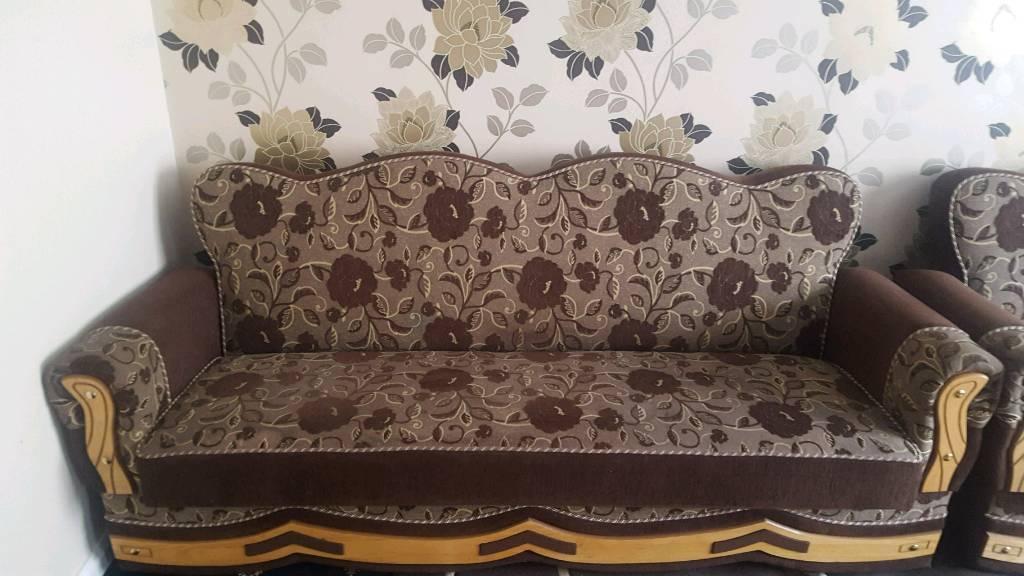 2x identical sofa/settees Cheap!