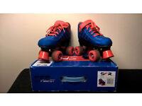 SFR Vision GT Quad Roller Skates, size 3J (35.5) REDUCED PRICE
