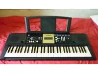 Yamaha YPT220 Electric Keyboard, Ideal For Beginners, Collection Only