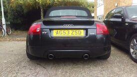 Audi tt quattro convertible
