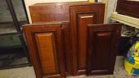 Kitchen units front doors
