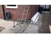 High top van roofrack and ladder