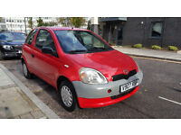 TOYOTA YARIS 1.0 CHEAP TO RUN LEFT HAND DRIVE QUICK SELL