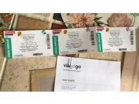 X3 Rolling Stones tickets