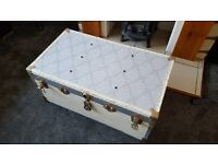Upcycled Vintage Trunk