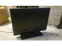 LG 25 inch LCD TV without remote