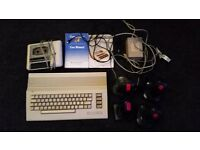 Commodore 64 Console Complete with Casette and Joysticks.