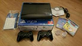 Ps3 160gb two controllers 2 games with infinities 2.0