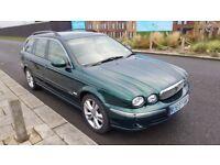 Jaguar X Type Sovereign Estate 2.0L Diesel 2007 - Full Leather Interior