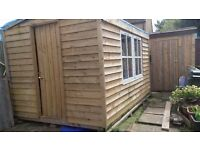 New Hand Built Garden Shed for Sale