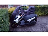 Yamaha BWS 125 Scooter. Fantastic condition, only 1300 miles from new