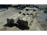 300 Granite kerbs 200 years reclaimed