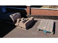 Brick paving aprox 12 square meters open to sensible offers