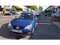 VOLKSWAGEN POLO 2007 1.2 S 5DR BLUE, EXCELLENT CONDITION, HPI CLEAR, FSH