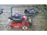 Old mountfield lawnmower, for spares or repair, 3.5hp was running on unleaded with an adative