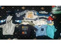 Large bundle baby boy clothes