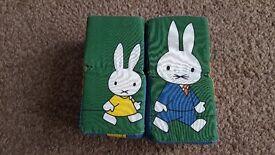 Miffy fabric blocks