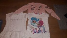 Large bundle of 3 to 4 girls clothes
