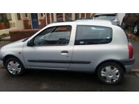 RENAULT CLIO LONG MOT, SERVICE HISTORY, CHEAP ON FUEL TAX, CD BIG BOOT HEATING TIDY £495 ONO