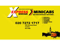 Pco Licensed Minicab Drivers Wanted North london 7 DAY FREE SHIFT