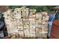 Reclaimed arlesey white bricks £1 each - take all or as many as you wish for £1 each