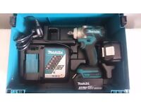 """MAKITA DTW281 18v lxt li-ion (BRUSHLESS) IMPACT WRENCH, """"CASE & INSERT ONLY, NO TOOLS!!!, DeWALT."""