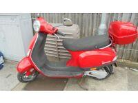 Piaggio vespa moped