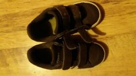boys brown adidas trainers junior size uk 7