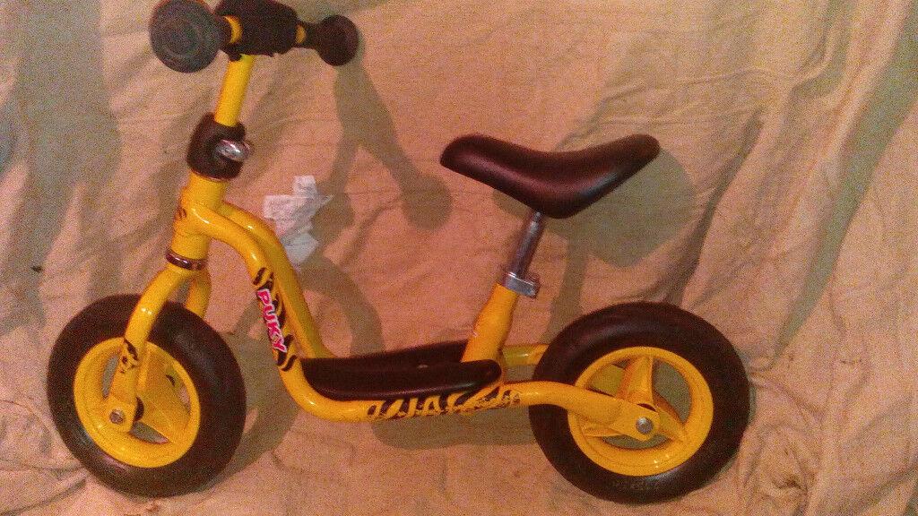 Puky Balance bike LRM, yellow, appr 2-3 years