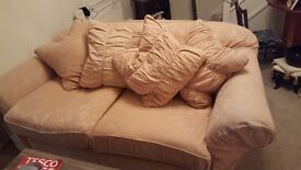 2x2 Seater sofa, Stool and chair