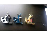 3 x tattoo machines