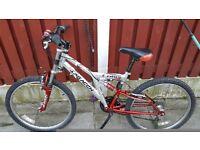 Saracen cube bike