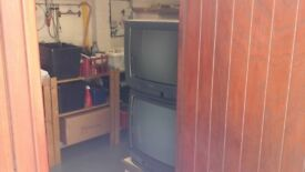 TVs old style both large